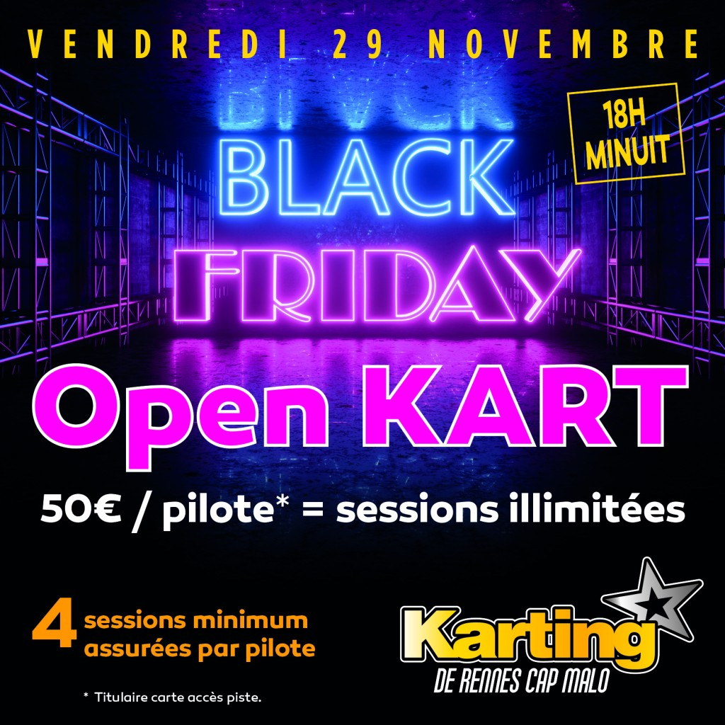 Black Friday 2019 karting rennes
