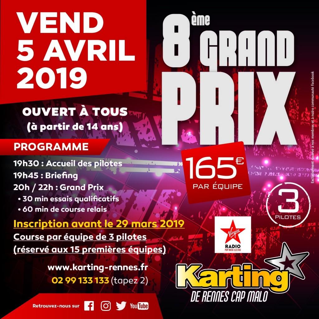 Grand prix karting avril 2019