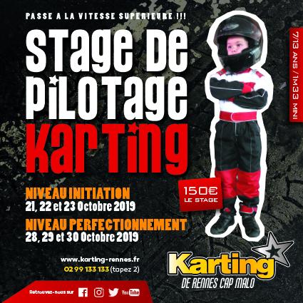stage pilotage kartig octobre 2019