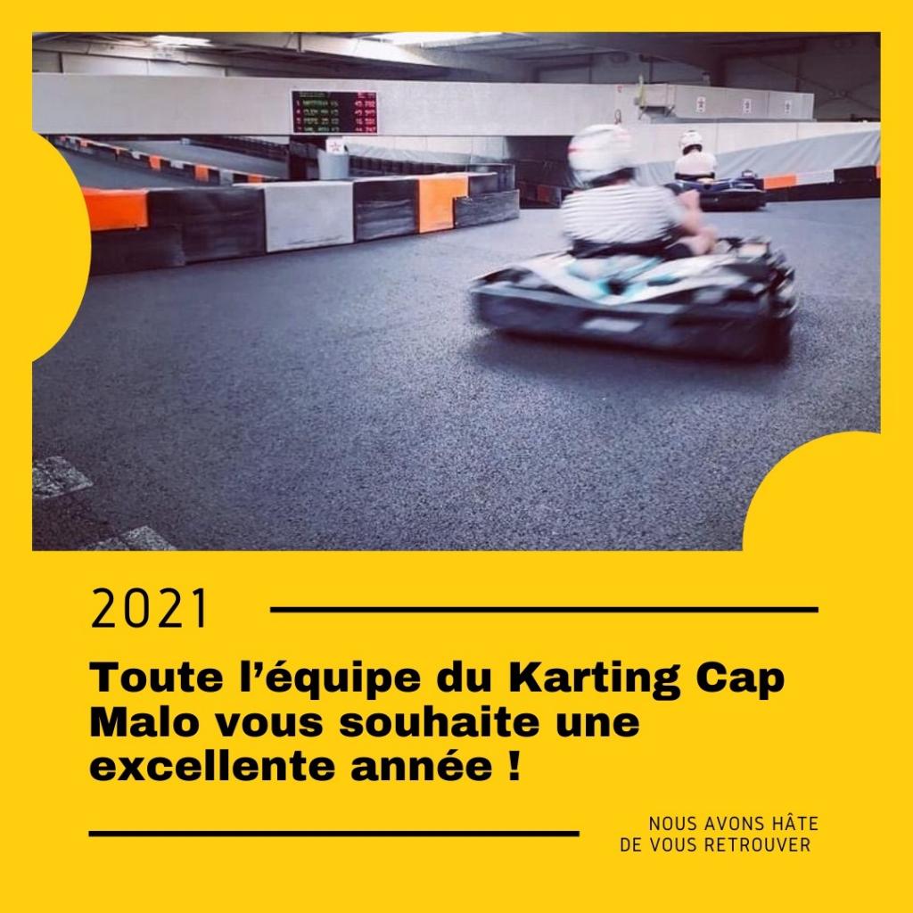 bonne année 2021 karting rennes