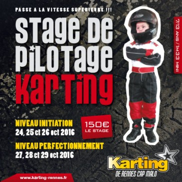 Stage Karting enfant octobre 2016