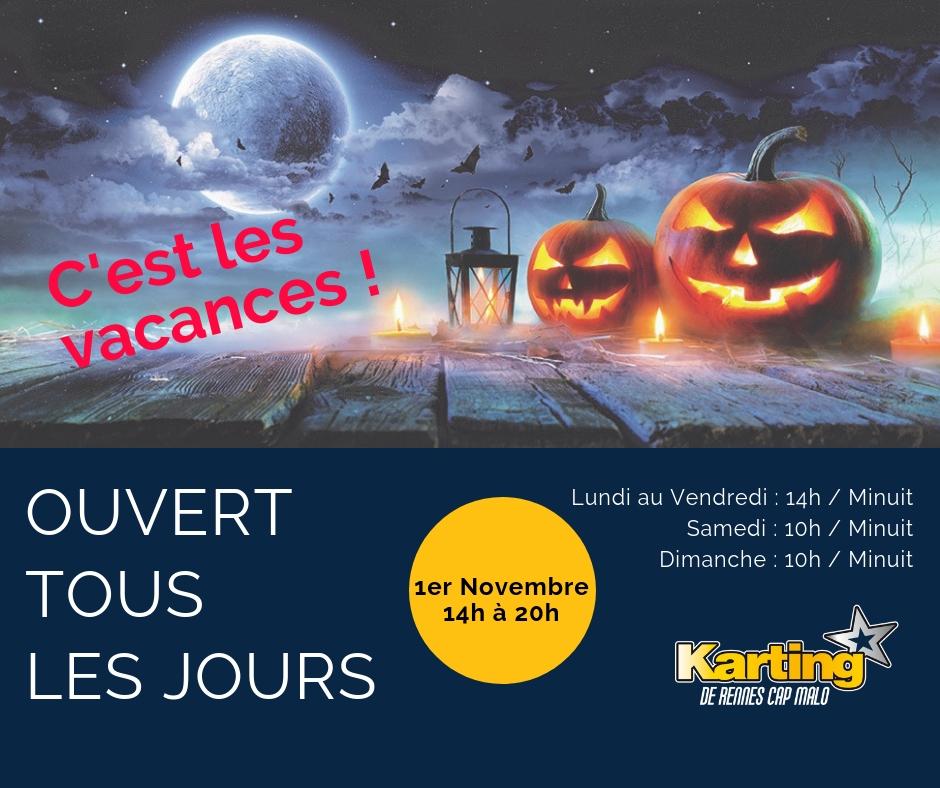 karting-horaires-vacances-octobre-2018