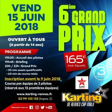 Grand prix karting Rennes 2018