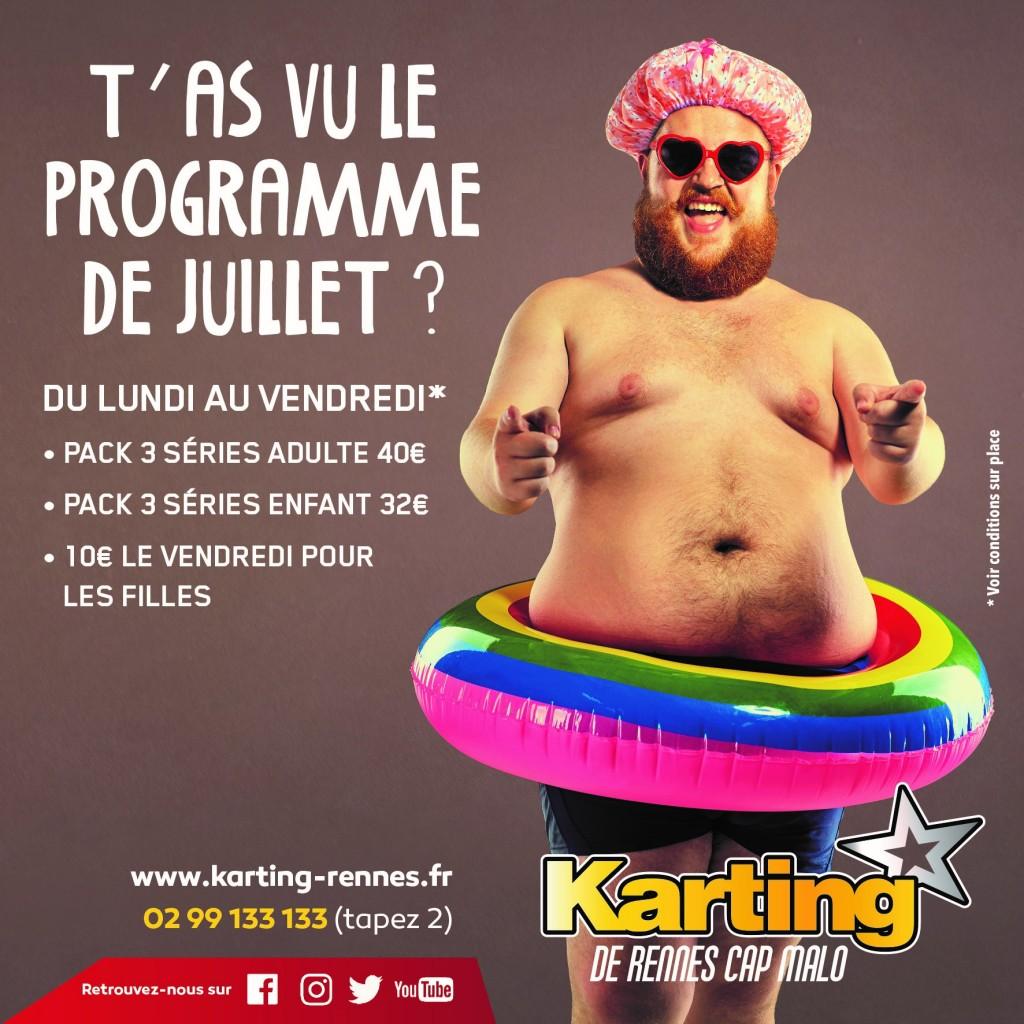 promo karting juillet 2019