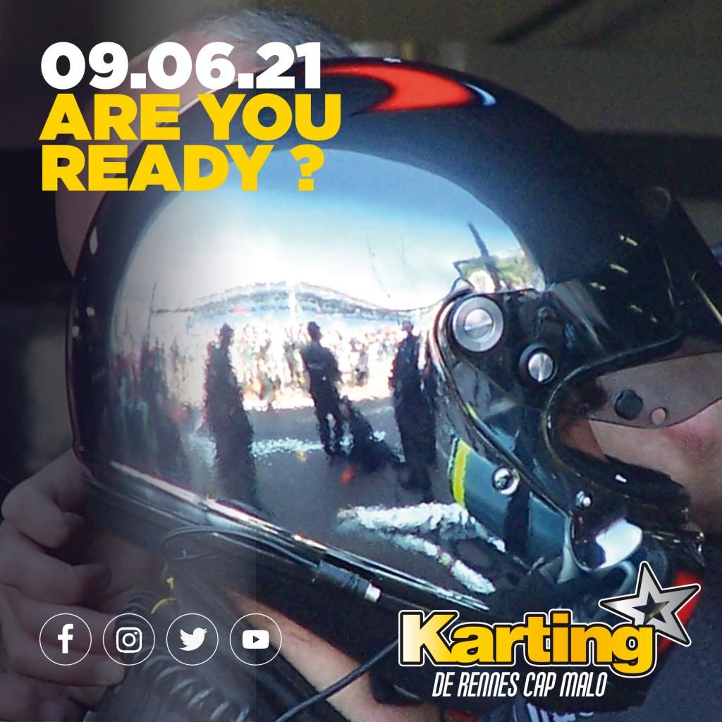 karting ouverture 9 juin 2021