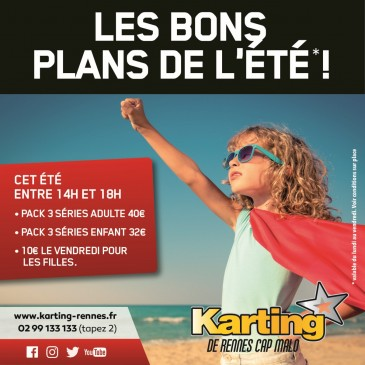 Promotion karting été 2018